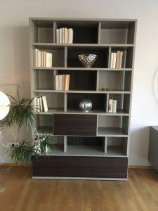 Bücherregal 505, Molteni & C. Ausstellungsstück, Sonderpreis, Deggendorf, Passasu, Straubing, Regensburg, München, redzuiert